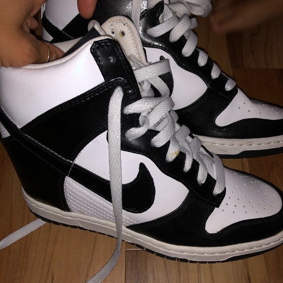 63e1b1ca5b17 Dunk Sky hi high top wedges ⚡️lowest price! M 5b21bb6f1b32946a94670994